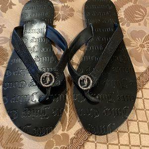 Juicy Couture Flip Flops - size 7